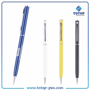 Small MOQ New luxury gift promotion multicolor metal pen