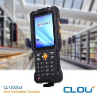 Android PDA mobile barcode scanner with high quality, NFC RFID Rearder is available with 15693 protocol tags