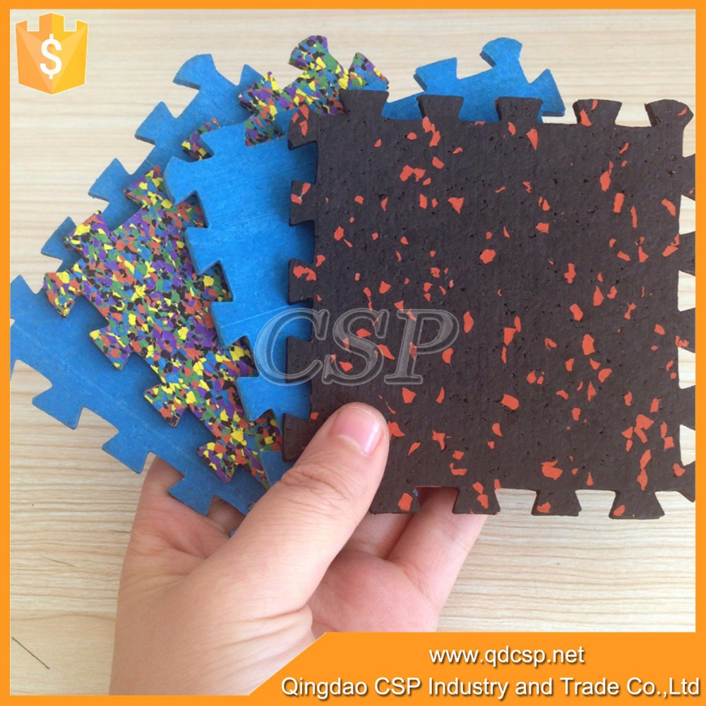 hot sale rubber interlocking decking tiles for crossfit