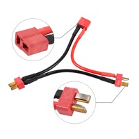 Deans Ultra Plug 2S Battery Harness for 2 Packs in Series