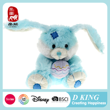 Fashion cute stuffed plush forest animal toy wholesale promotion gift custom plush rabbit soft toy with logo