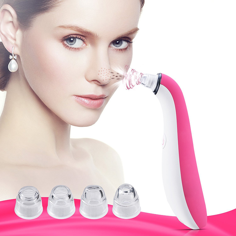 Suction Pore Cleaner Electronic Skin Care Portable Blackhead Remover Vacuum with Free Sample