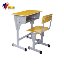 School Furniture Price Suppliers Single School Desk and Chair in South Africa