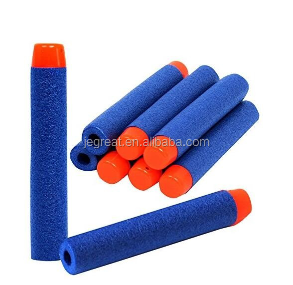 7.2*1.3cm EVA soft foam Refill Bullet Darts for Kid Toy Gun