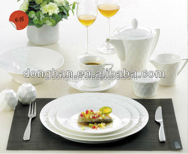 beautiful printing Ceramic family member porcelain dinner set