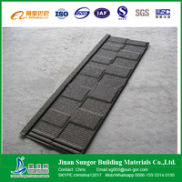 Shandong Province Local Supplier Stone Coated Metal Roof Tiles
