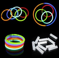 customized LED foam glow bracelet stick