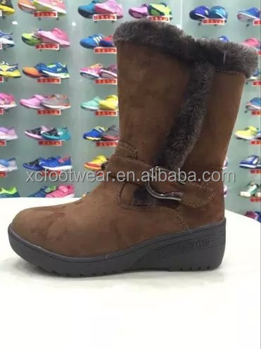 Fashion Woman cheap shoes winter warm ladies snow boots