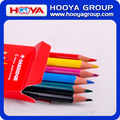 wholesale custom plastic jumbo rainbow color pencils