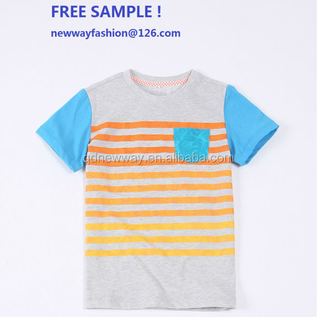 Children clothing manufacturers china wholesale cotton kids t shirt free sample facotry