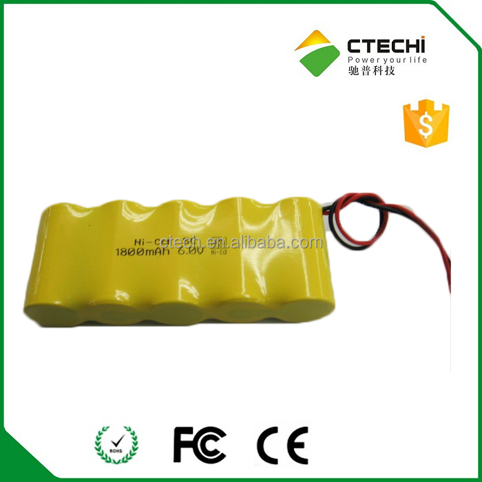 NI-CD sc 1800mAh 6V rechargeable battery pack for power tool