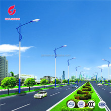Energy saving street lighting solar mount poles lamp for sale