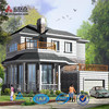 2015 Beautiful Appearance Galvanized Light Steel Structure Homes