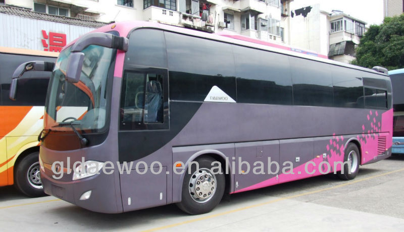 50 seater bus 6119 luxury passenger coach
