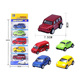 Alloy pull back miniature diecast toy vehicles