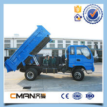 China famous brand KAMA 120hp tipper left hand driver four wheel drive mini trucks