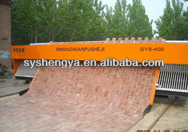 SY6-400 South African tiger stone paving machine