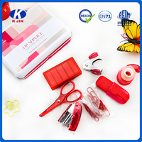 Student school supplies fashion cute office stationery set for girls wholesale cheap price