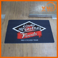 Promotional Products Christmas advertising logo printed custom mat