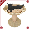 S&D luxury pet dog bed wholesale waterproof rattan dog bed