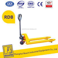 Quality primacy cheapest price manual pallet truck with hand brake