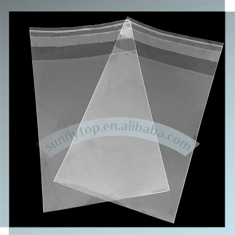 Opp cellophane bag with self adhesive