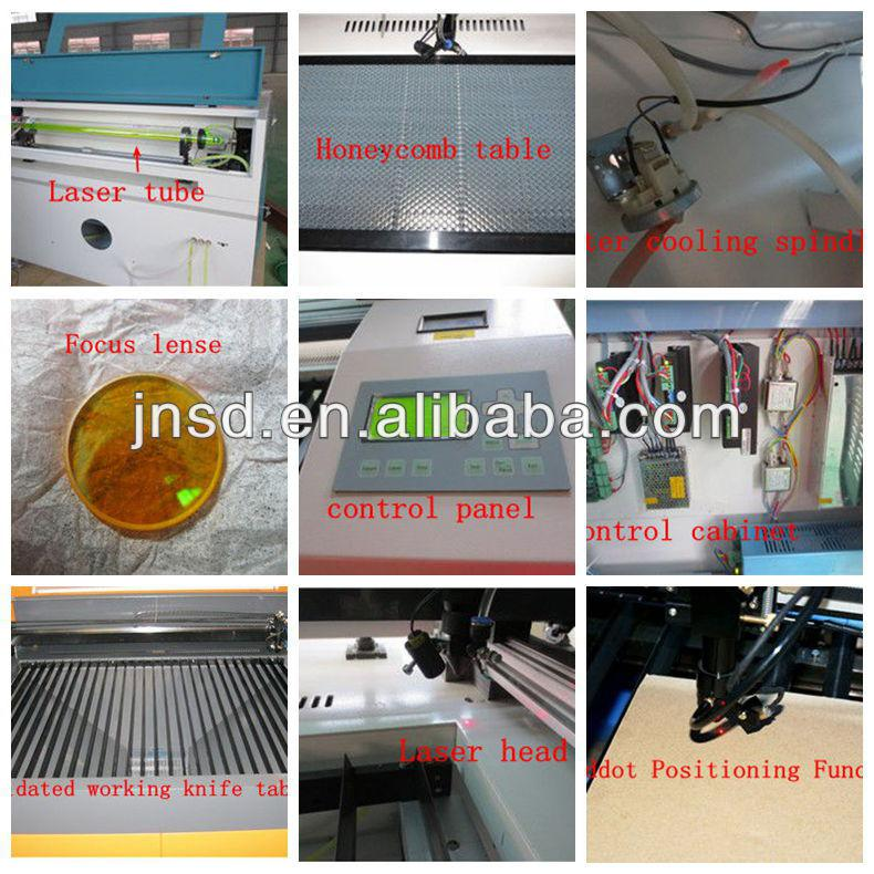 laser engraving machine wood with 60w 80w laser tube
