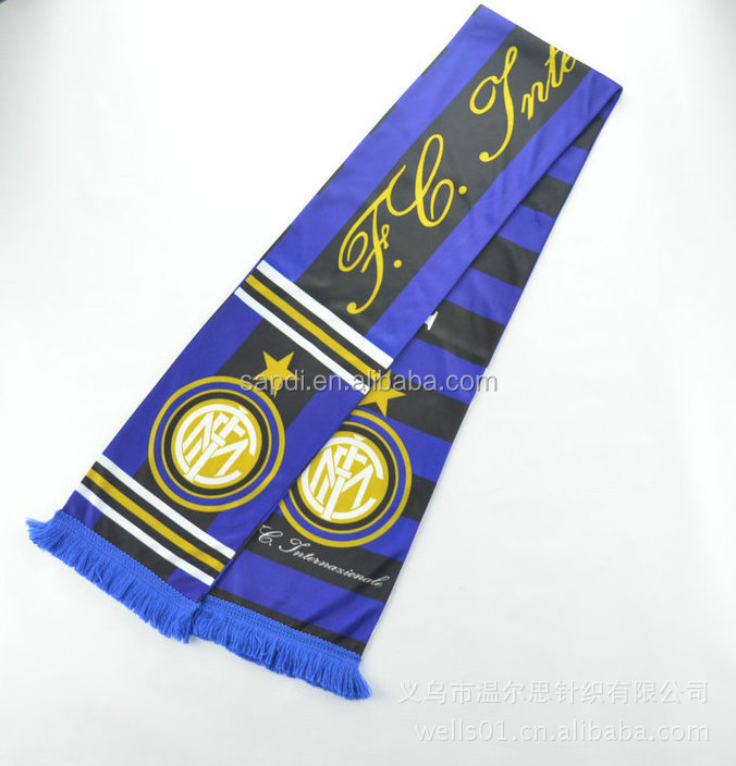 Fans Scarf, Sport Neck Scarf, Football Team Scarf