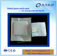 Local hemostat sponge cotton gauze sterile