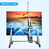 Portable High Resolution 3D Oil Painting Machine Wall Art Inkjet Printer Vertical Wall Printer Machine (Model: PE-S50)