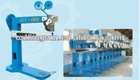 corrugated carton box stapling machine