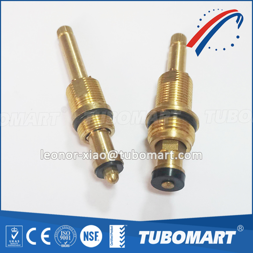 Tubomart TM-350 Faucet disc ceramic cartridge core angle valve handles stem and brass cartridges ISO 9001