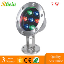 Factory Price Indoor LED Underwater 7w RGB IP68 LED Pool Lights