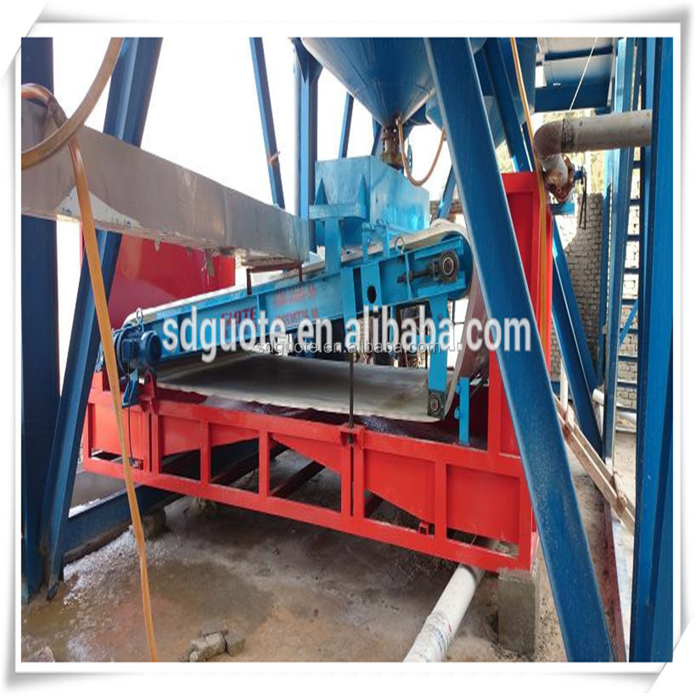 Plate Type High Gradient Wet Magnetic Separator for iron ore