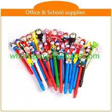 diy cartoon polymer clay ball pen ball pen roller pen
