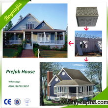 China luxury Holiday house Prefabricated steel frame prefab modular home luxury villa