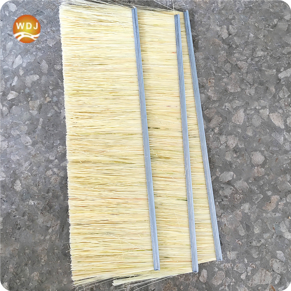Factory Supply Polish Wood Sisal Strip Brush