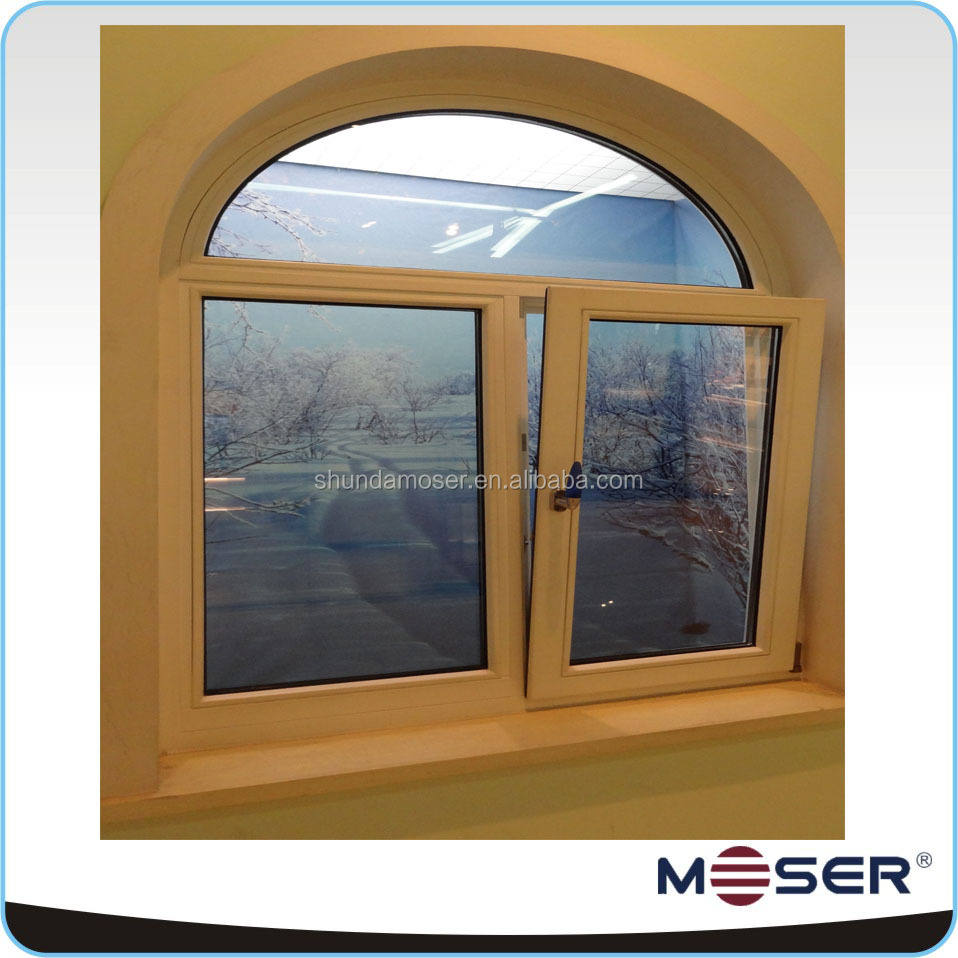 German alu-wood heat resistant windows