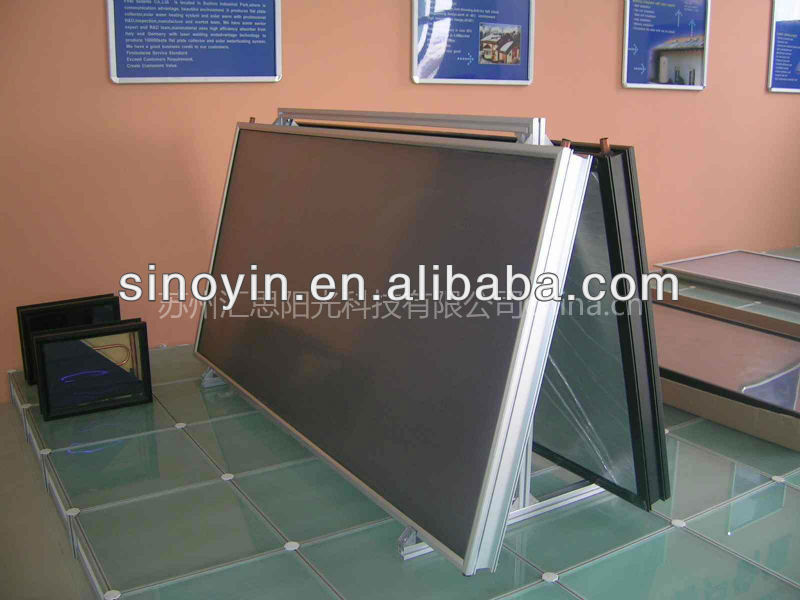 flat panel solar swimming pool collector/epdm solar pool heating collector/solar heating system for buildings
