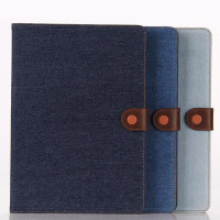 Fashionable levis jeans leather case for ipad air