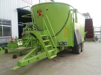 World famous TMR Feeds Mixer / Vertical Mixer Wagons with large volume