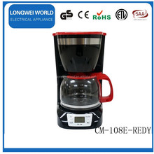 Non-stick warm plate and keep warm function coffee maker