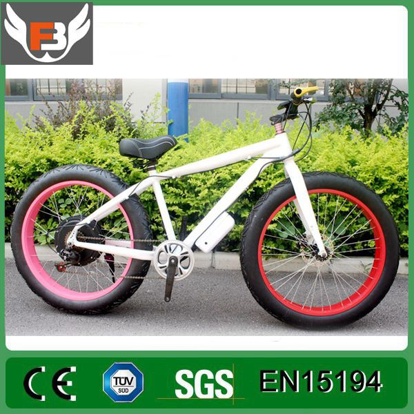 Factory promotion 8 Fun motor Electric Snow Bike with 21 speed gear