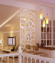 laser cut mdf wood decorative wall panel design