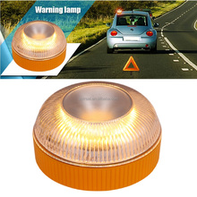 10W LED Emergency Vehicle Strobe Warning Lights with Magnetic Base Battery Operated Lighting for Trucks, Cars, Roof