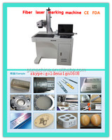 Fiber laser marking machine for jewelry surface