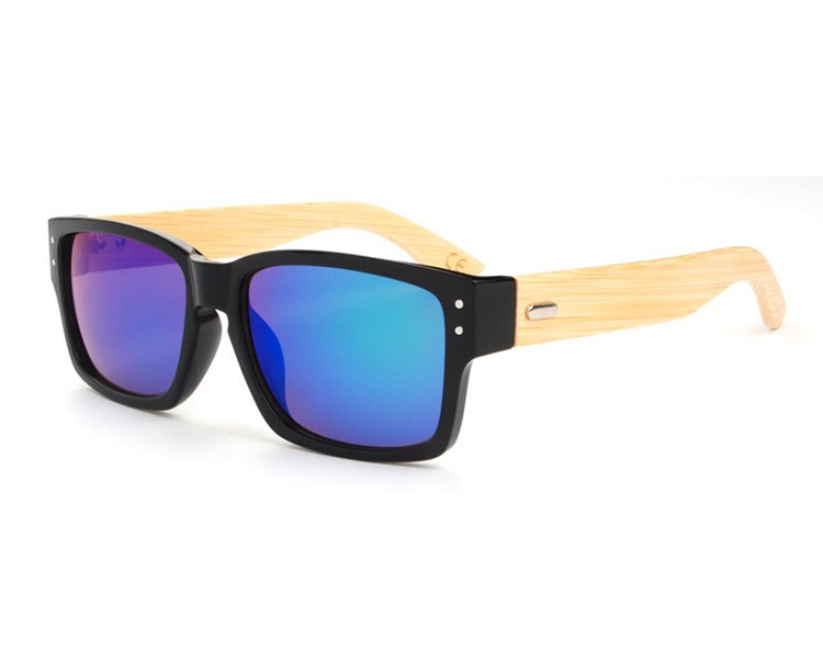 2016 Fashion Men Women Wooden SunGlass Hinges Bamboo Eyewear Wood Glasses