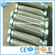 Stainless steel flexible metal hose assemmbly