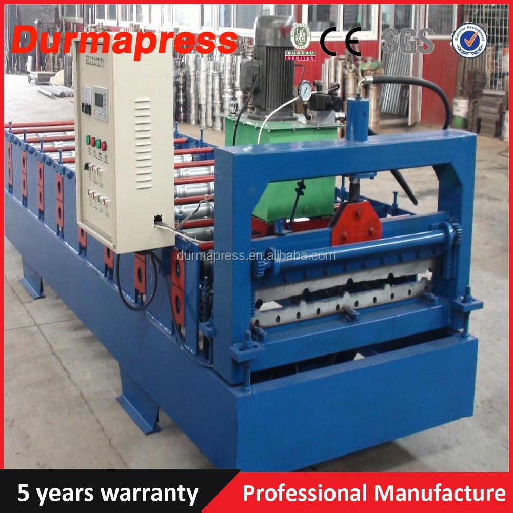 Durable Quality embossing cnc colored steel rolling shutter door forming machine