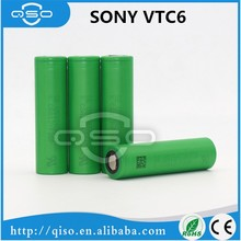18650 rechargeable battery VTC6 3000mah 30A 3.7v US18650 lithium ion battery for sony